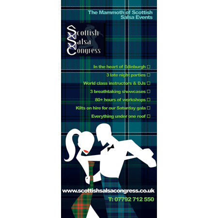 Scottish Salsa Congress Pop Up
