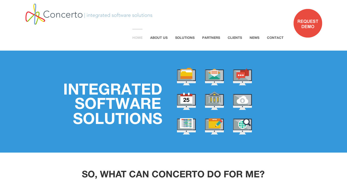 Concerto integrated software solutions