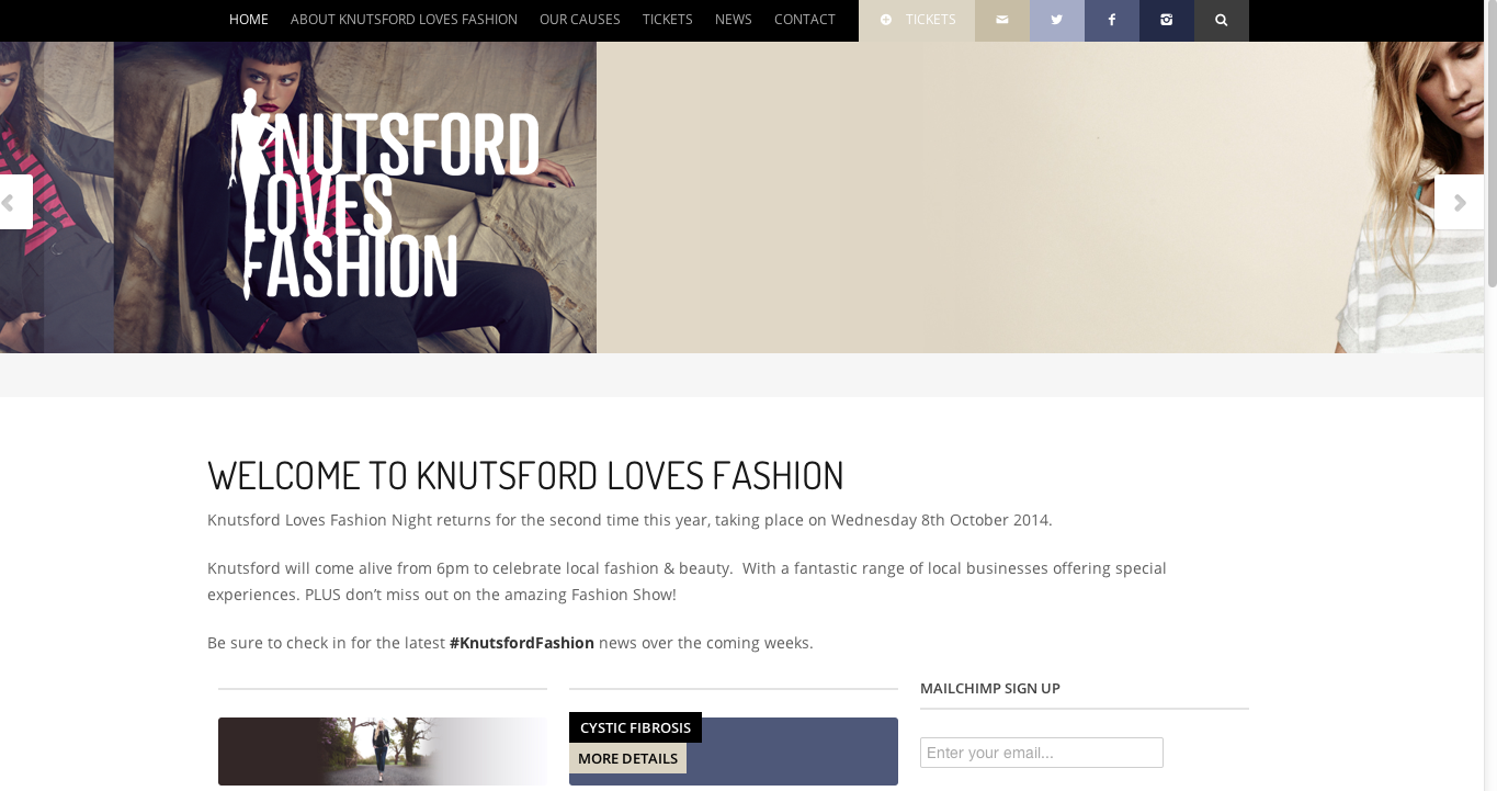 Knutsford Love Fashion charity event 2014