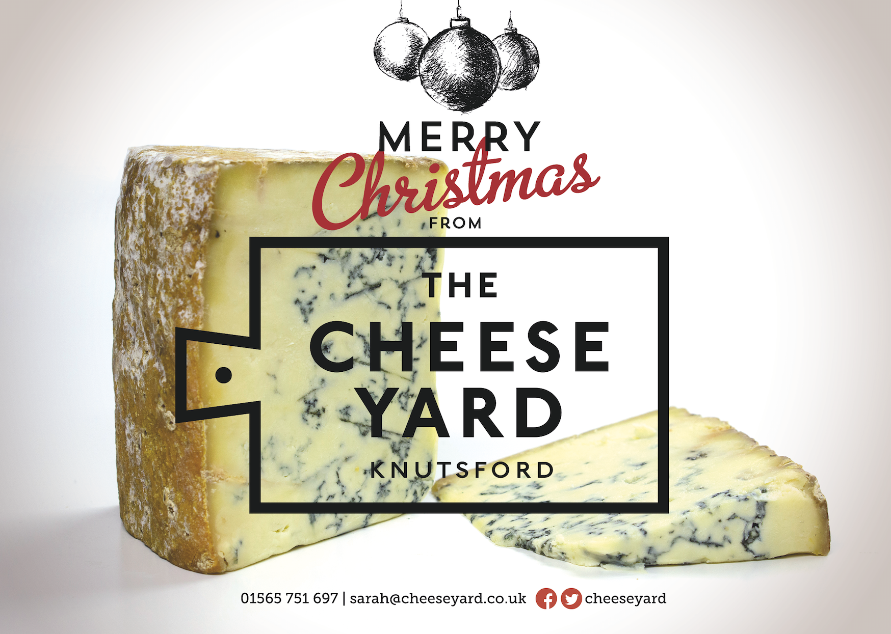 The Cheese Yard Knutsford Christmas Flyer
