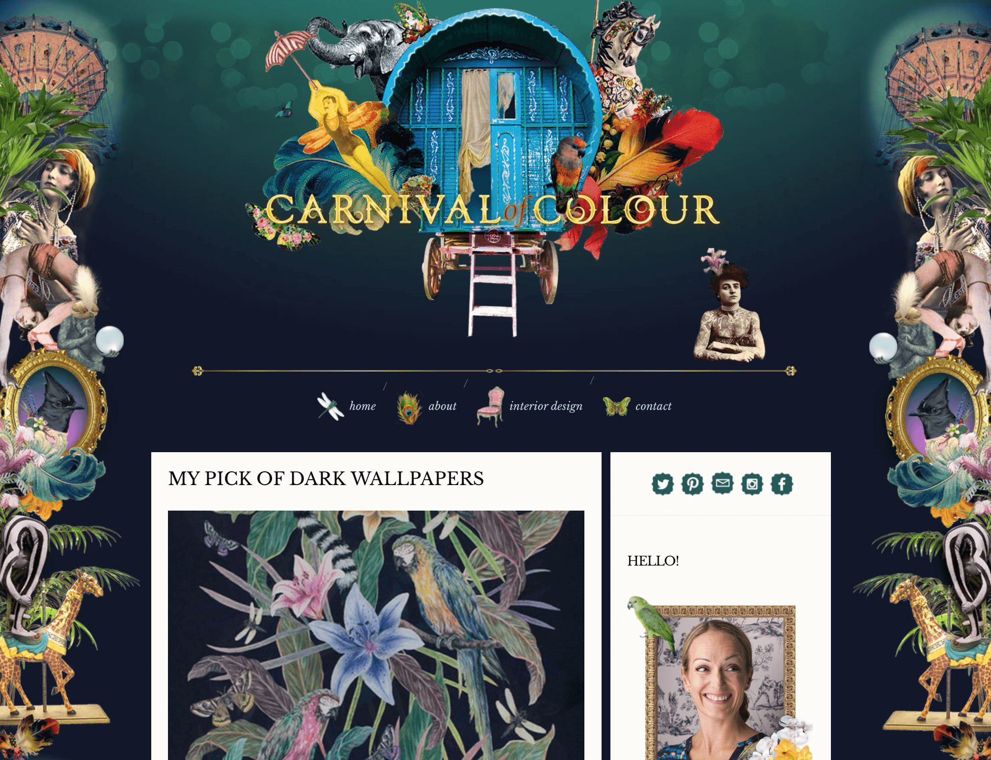 Carnival of Colour Website