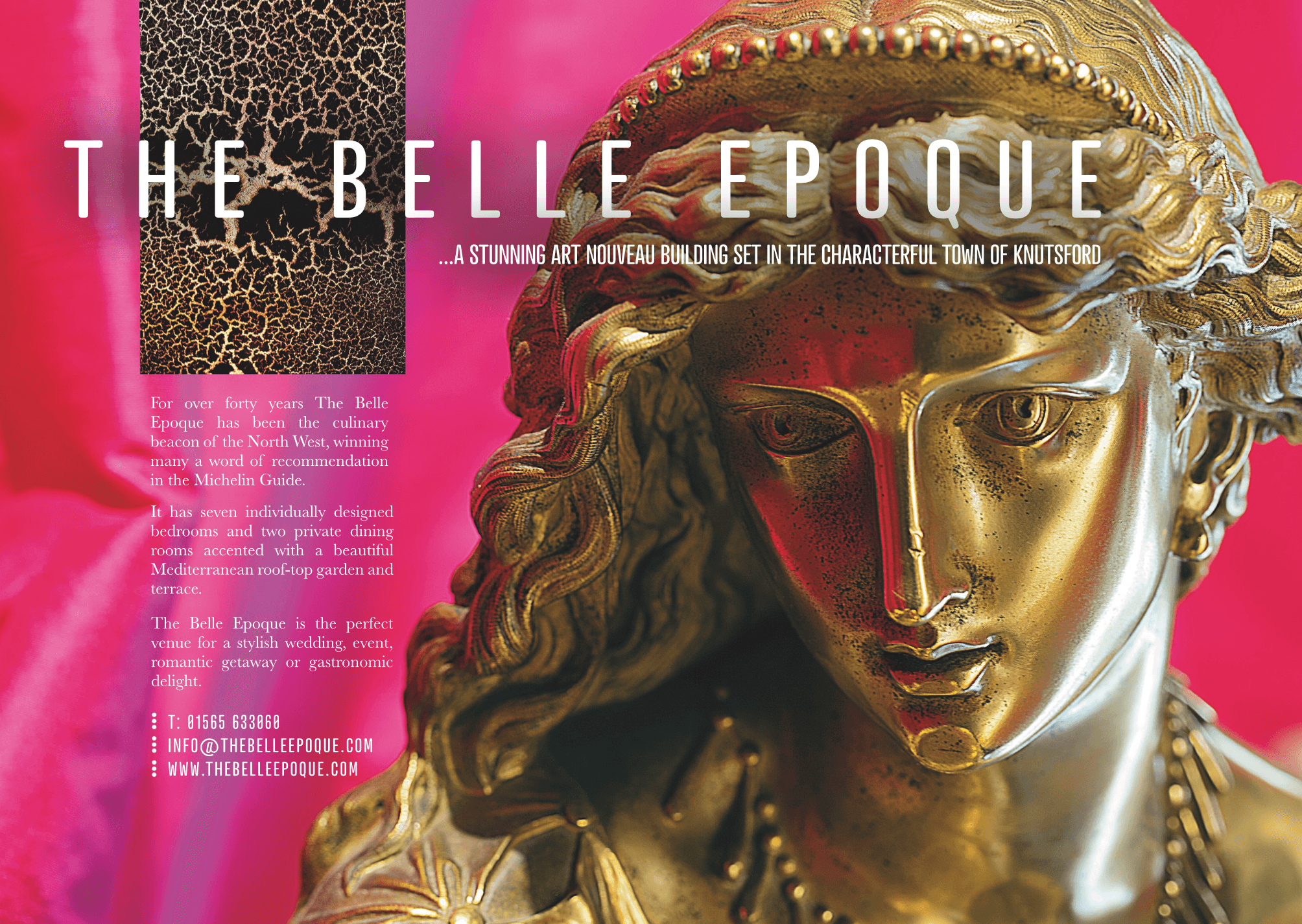 Belle Epoque Venue Flyer
