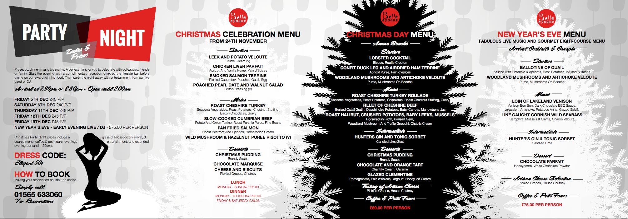 Christmas Brochure 2014