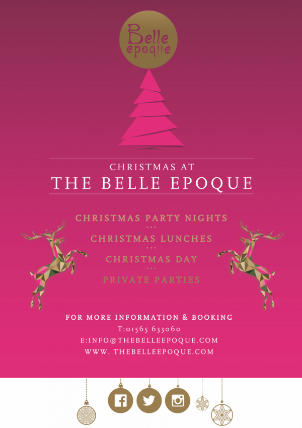 The Belle Epoque Christmas Design 2017