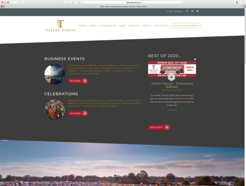 EVENTS ON THE TATTON ESTATE